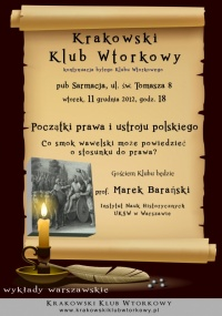 Początki prawa i ustroju polskiego